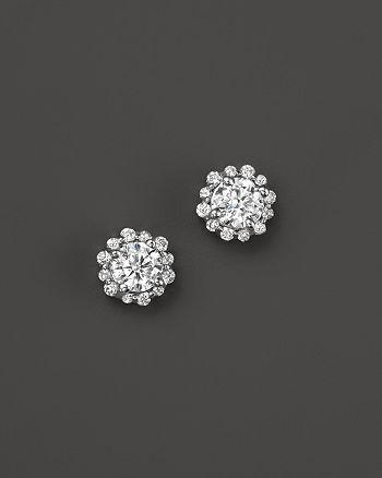 Bloomingdale's - Diamond Stud Earrings in 14K White Gold - 100% Exclusive