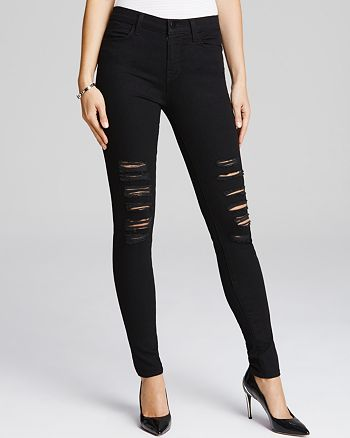 cd8b31dc23b3 J Brand Jeans - Photo Ready Maria High Rise Destructed in Blackheart ...
