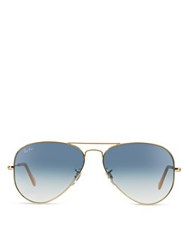 Ray-Ban - Unisex Original Brow Bar Aviator Sunglasses, 62mm
