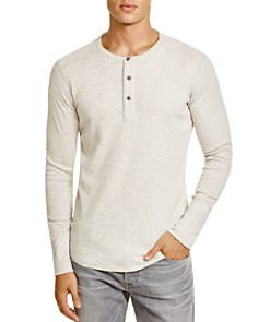 Wings and Horns - Slub Cotton Henley