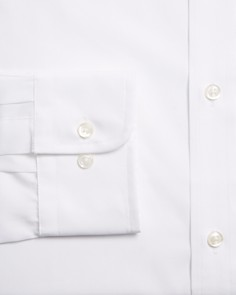 The Men's Store at Bloomingdale's - Basic White Regular Fit Dress Shirt - 100% Exclusive
