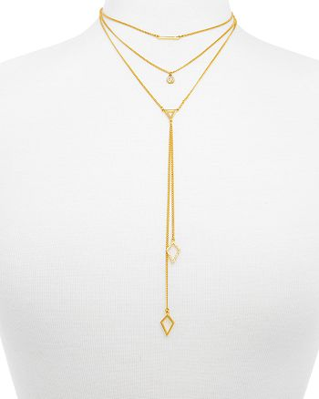 """BAUBLEBAR - Facets Layered Necklace, 14"""""""