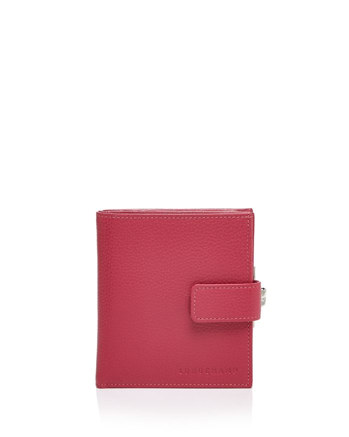 Longchamp Le Foulonne Leather French Wallet   | Bloomingdale's