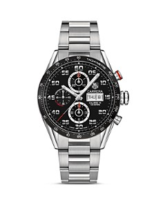 TAG Heuer Carrera Automatic Tachymeter Watch, 43mm - Bloomingdale's_0