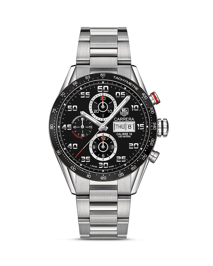 TAG Heuer - Carrera Automatic Tachymeter Watch, 43mm
