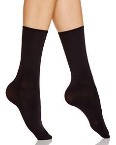 HUE Opaque Anklet Socks - Bloomingdale's_0