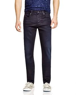 G-STAR RAW - G-STAR RAW 3301 Slander Slim Fit Jeans in Dark Aged