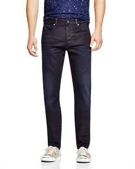 G-STAR RAW - G-STAR RAW 3301 Slander Super Stretch Slim Fit Jeans in Dark Aged