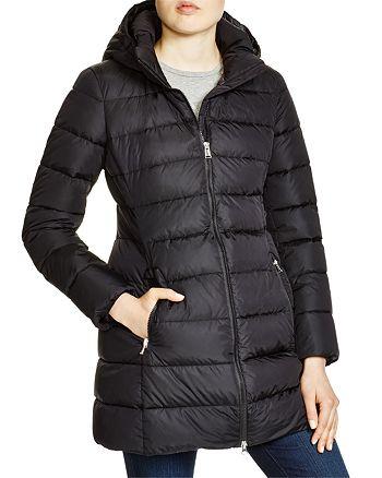 97160d9990691 Add Down Hooded Down Coat | Bloomingdale's