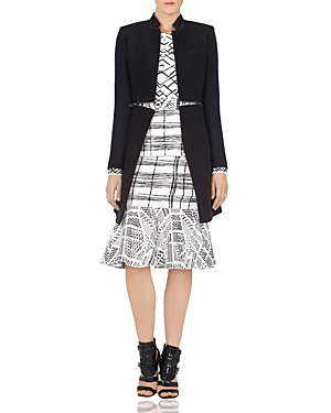 Bcbgmaxazria Arelia Zip Waist A-Line Jacket at Bloomingdale's