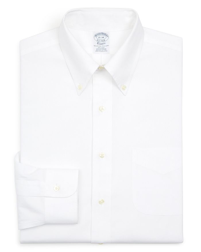Brooks Brothers - Basic Solid Non-Iron Dress Shirt