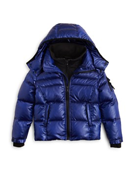 SAM. - Boys' Racer Puffer Jacket - Little Kid