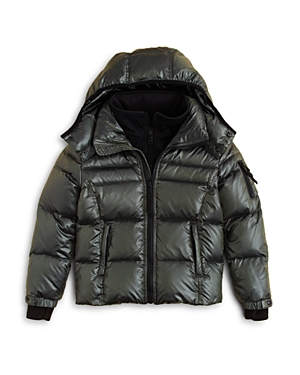 Sam Boys Racer Puffer Jacket  Little Kid