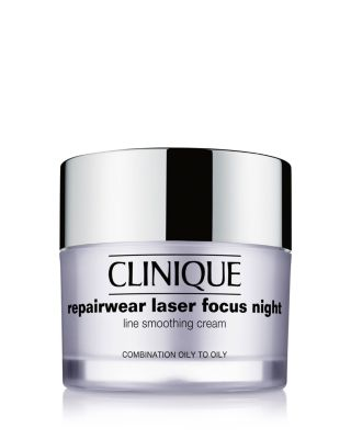 Repairwear Laser Focus Night Line Smoothing Cream, Combination Oily to Oily