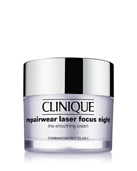 Clinique - Repairwear Laser Focus Night Line Smoothing Cream