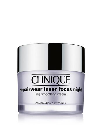 Clinique - Repairwear Laser Focus Night Line Smoothing Cream, Combination Oily to Oily