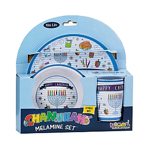 Rite Lite 3 Piece Children's Chanukah Melamine Serve Set