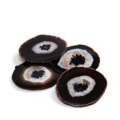 ANNA new york - Pedra Coasters Chocolate Set of 4