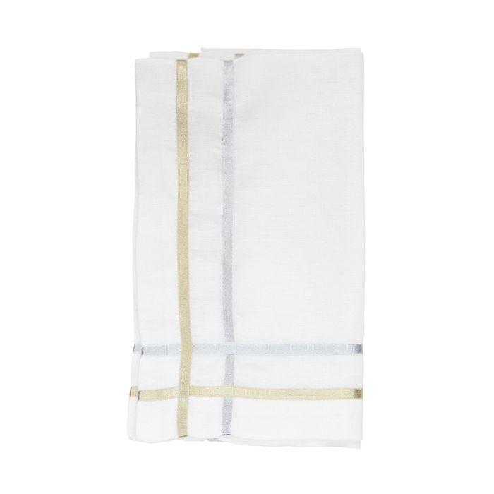 Juliska - Metallic Ribbon Lattice Napkin