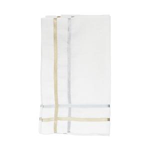 Juliska Metallic Ribbon Lattice Napkin