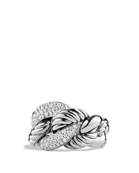 David Yurman - David Yurman Belmont Ring with Diamonds