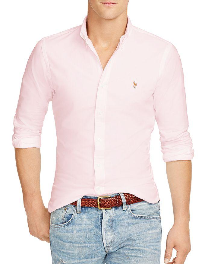 ed5b6d27b9fd Polo Ralph Lauren - Slim-Fit Stretch-Oxford Shirt