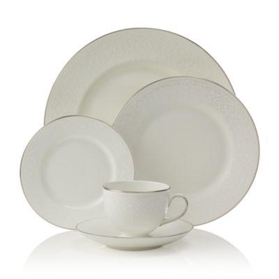 """""""English Lace"""" Oval Platter, 13.75"""""""