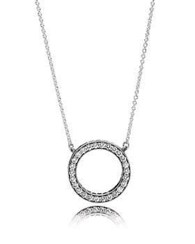 Pandora - Necklace - Sterling Silver & Cubic Zirconia Hearts of PANDORA