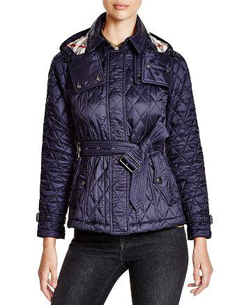 Burberry Short Finsbridge Quilted Coat Bloomingdales