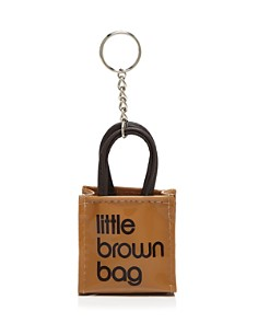 Bloomingdale's - Little Brown Bag Key Fob - 100% Exclusive