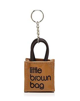 Bloomingdale's - Little Brown Bag Key Fob - 100% Exclusive