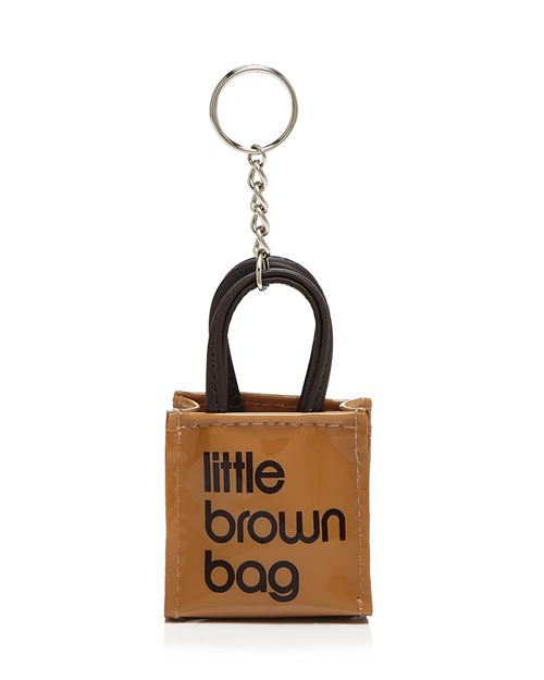 Bloomingdale S Little Brown Bag Key Fob 100 Exclusive