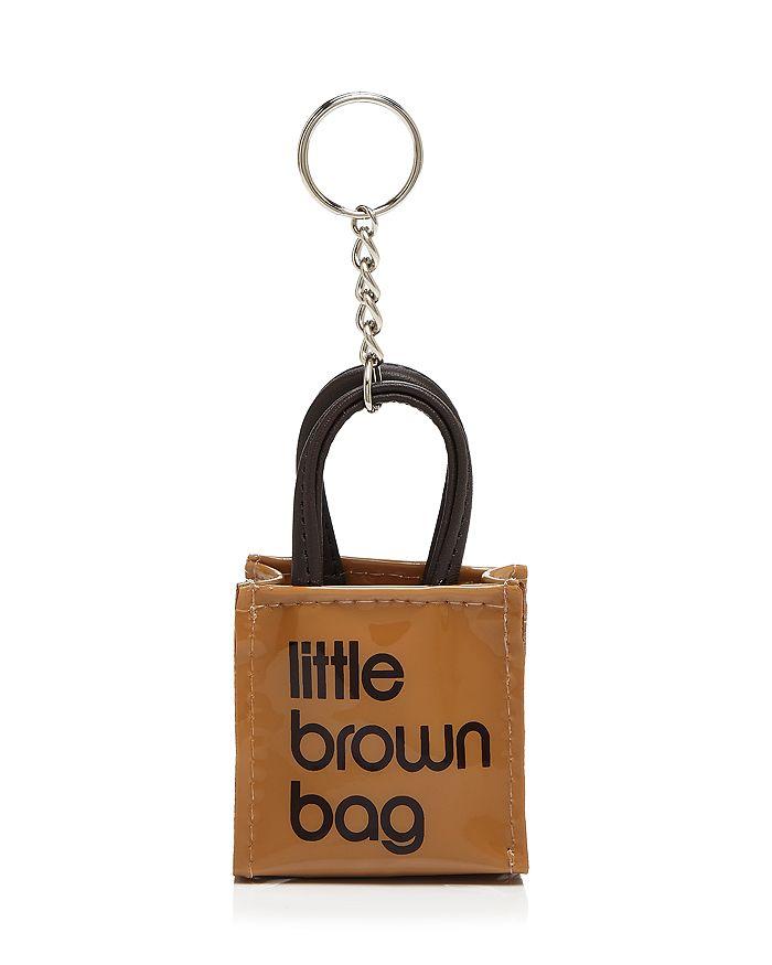 Bloomingdale S Little Brown Bag Key Fob