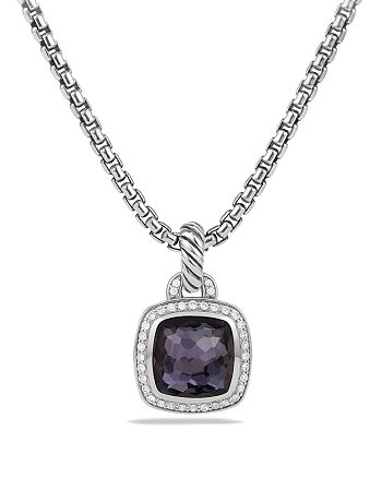 David Yurman - Albion Pendant with Black Orchid & Diamonds