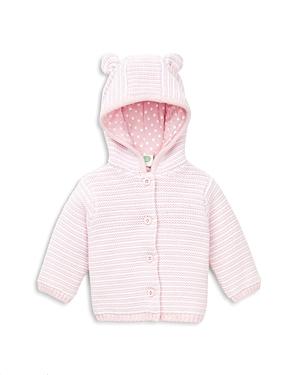 Little Me Girls Stripe Hooded Cardigan  Baby