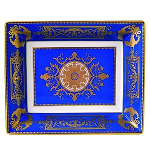 Bernardaud Aux Rois Porcelain Rectangular Dish