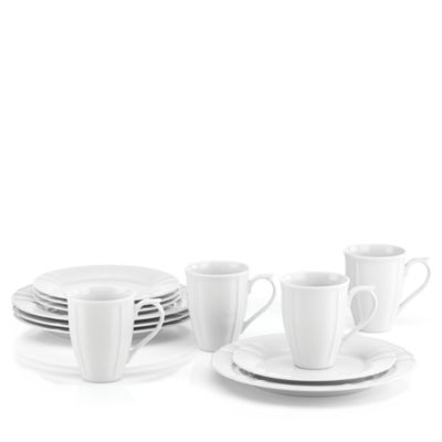 French Chefs Porcelain 12 Piece Dinnerware Set Bloomingdales