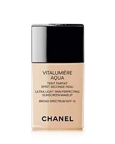 CHANEL VITALUMIÈRE AQUA Ultra-Light Skin Perfecting Makeup SPF 15 - Bloomingdale's_0
