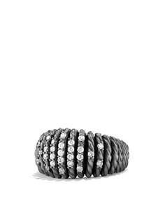 David Yurman - David Yurman Tempo Ring with Diamonds