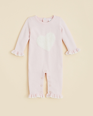 Bloomies Infant Girls Sweater Knit Coverall  Sizes 39 Months  100 Exclusive