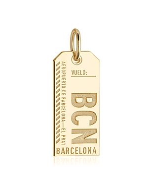 Jet Set Candy Barcelona, Spain Bcn Luggage Tag Charm
