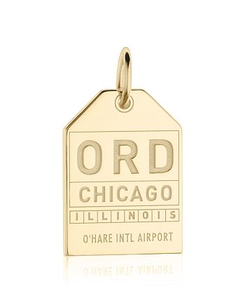 Jet Set Candy - ORD Chicago Luggage Tag Charm