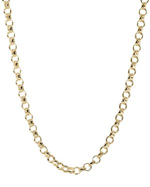 JET SET CANDY ROLO CHAIN NECKLACE, 30