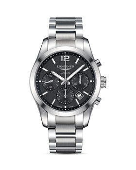 Longines - Conquest Classic Watch, 41mm
