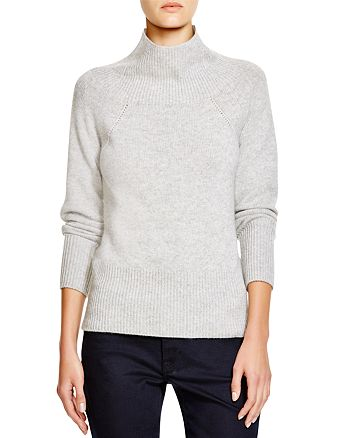 Burberry - Mock Neck Cashmere Sweater