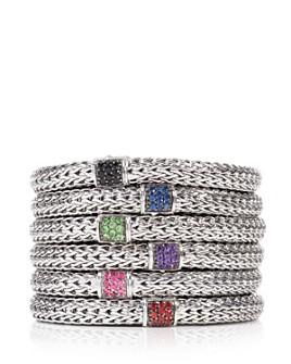 JOHN HARDY - Classic Chain Sterling Silver Lava Bracelet