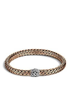 John Hardy Men's Classic Chain Silver and Bronze Medium Chain Bracelet - Bloomingdale's_0