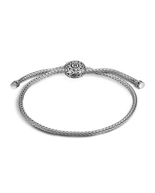 John Hardy Women S Clic Chain Silver Knot Bracelet