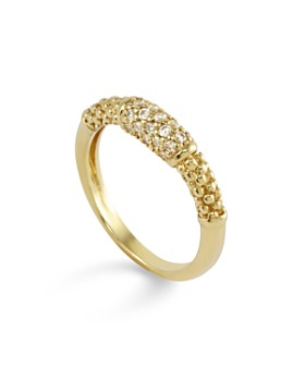 LAGOS - 18K Gold and Diamond Ring