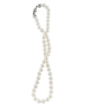 LAGOS - Sterling Silver Luna Pearl Necklace, 18""